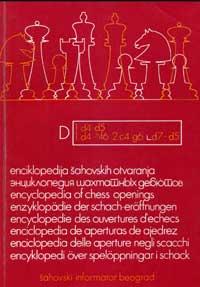 Энциклопедия шахматных дебютов, том D — обложка книги.