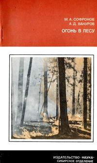 Огонь в лесу — обложка книги.