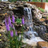 Садовые водопады