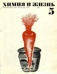 Химия и жизнь №05/1969 — обложка книги.