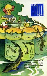 Юный техник 6/1984 — обложка книги.