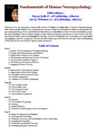 Fundamentals of human neuropsychology — обложка книги.