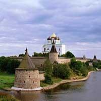 Древний город Псков.