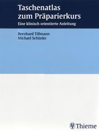 Taschenatlas zum Prapariekurs — обложка книги.