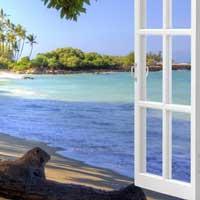 Окно на побережье.