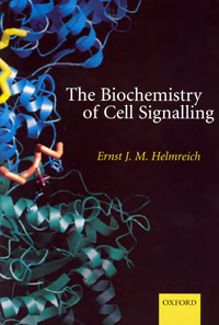 Thr Biochemistry of Cell Signalling — обложка книги.
