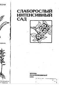 Слаборослый интенсивный сад — обложка книги.