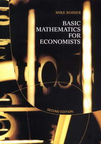 Basic Mathematics for Economists — обложка книги.