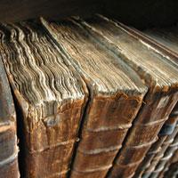 Старинные книги.