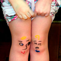 Когда вы получаете травму, в мире грустит одна коленочка.