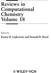 Reviews in Computational Chemistry. V. 18 — обложка книги.