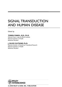 Signal Transduction and Human Disease — обложка книги.