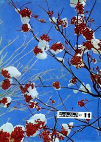 Юный натуралист №11/1975 — обложка книги.
