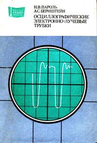 Массовая радиобиблиотека. Вып. 1054. Осциллографические электронно-лучевые трубки — обложка книги.