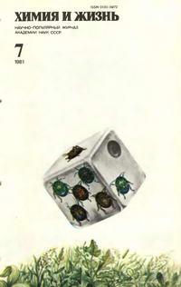 Химия и жизнь №07/1981 — обложка книги.