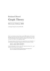 Graph Theory — обложка книги.