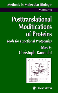 Posttranslational Modifications of Proteins — обложка книги.