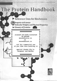 The Protein Handbook — обложка книги.
