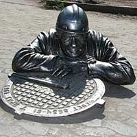 Памятник Сантехнику.