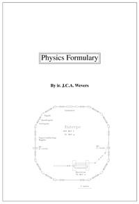 Physics formulary — обложка книги.