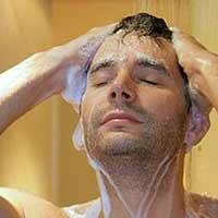 Помыть голову.