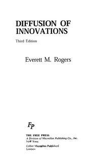 Diffusion of innovations — обложка книги.