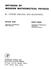 Methods of modern mathematical physics. 2: fourier analysis, self-adjointness — обложка книги.