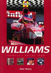 Уильямс. Команда Формулы-1 — обложка книги.