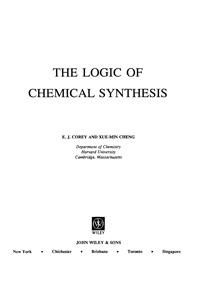The Logic of Chemical Synthesis — обложка книги.