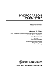 Hydrocarbon chemistry — обложка книги.