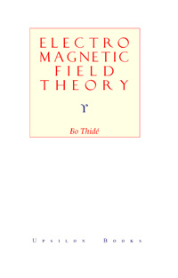 Electromagnetic field theory — обложка книги.