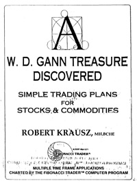 W. D. Gann Treasure Discovered — обложка книги.