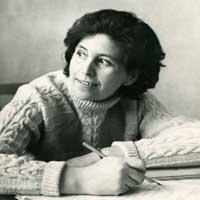 Писательница Екатерина Рудик.