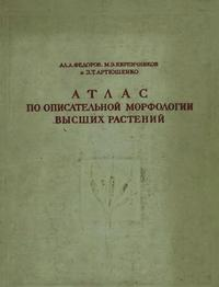 Атлас по описательной морфологии высших растений. Стебель и корень — обложка книги.