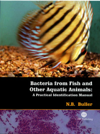 Bacteria from Fish and Other Aquatic Animals: A Practical Identification Manual — обложка книги.