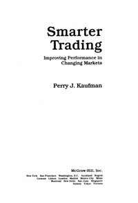 Smarter Trading — обложка книги.
