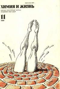 Химия и жизнь №11/1989 — обложка книги.