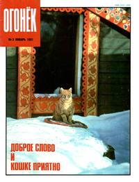 Огонек №03/1991 — обложка книги.