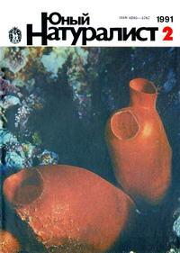 Юный натуралист №02/1991 — обложка книги.