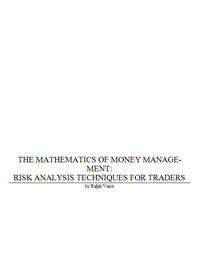 The Mathematics Of Money Managment — обложка книги.