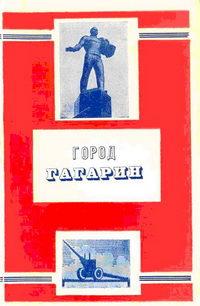 Город Гагарин — обложка книги.