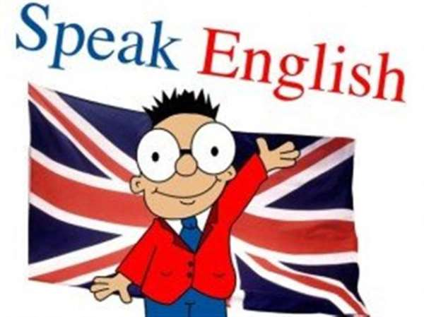 «Speack English»