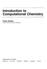 Introduction to Computational Chemistry — обложка книги.