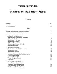 Methods of a Wall-Street Master — обложка книги.