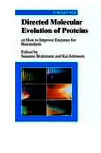 Directed Molecular Evolution of Proteins — обложка книги.