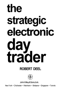 The Strategic Electronic Day Trader — обложка книги.