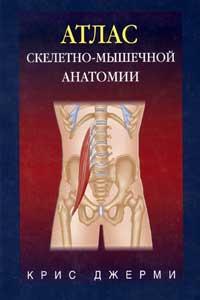 Атлас скелетно-мышечной анатомии — обложка книги.