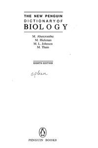 The New Pengujn Biology — обложка книги.
