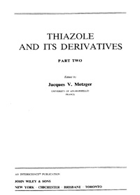 Thiazole and its Derivatives. Part Two — обложка книги.