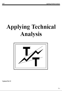 Applying Technical Analysis With Advanced Get — обложка книги.